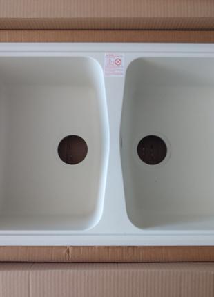 Мийка кухонна Plados 79x50 см (мойка кухонная)