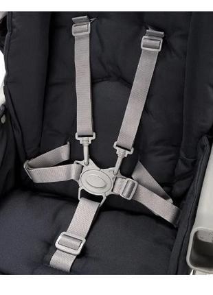 Пятиточечные ремни безопасности (коляска, автокресло, стульчик)