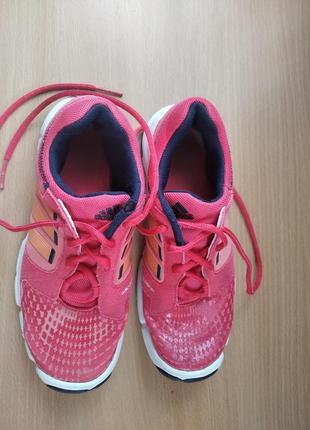 Фирменные кроссовки adidas р .34 ( по стельке 21,5 см )