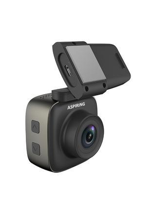 Видеорегистратор ASPIRING EXPERT 4 Wi-Fi, GPS, магнитное креплени