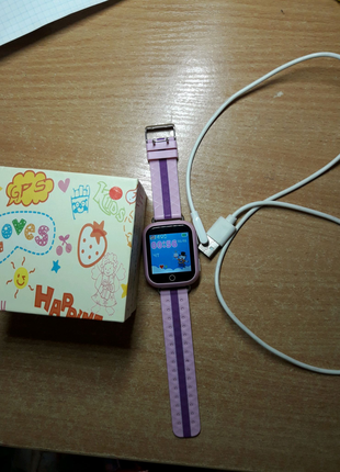Детские умные смарт часы с GPS Smart Baby Watch Q100-PLUS