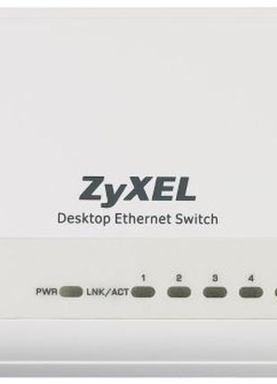 Zyxel es108s   8-портовый настольный коммутатор s...