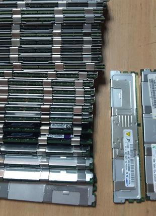 Серверная память FB-DIMM DDR2 4Gb / 8Gb PC2-5300F ECC Reg Full...