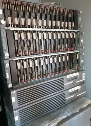 Хранилище данных HP Enterprise Virtual Array (EVA) полки + контро