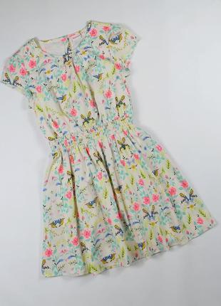 Платье на 10 лет, рост 140 см.