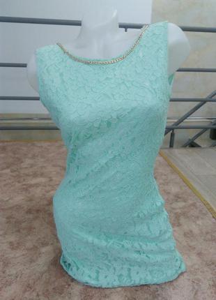 Шикарное нежное гипюровое нарядное вечернее платье турция