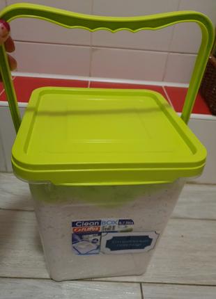Продам контейнер для порошка на 10л