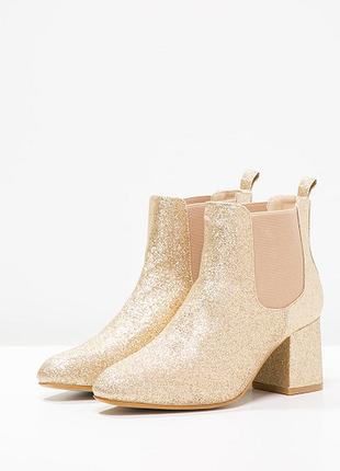 Стильные блестящие ботинки от missguided
