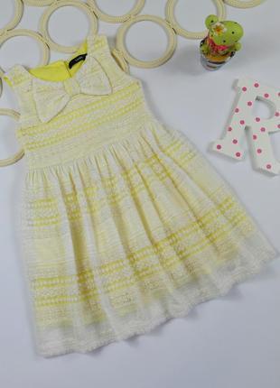 Нежное, очень красивое платье george на 2-3 года, рост 92-98 см