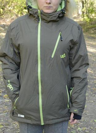 Лыжная куртка от бренда urban beach clothing (ub)