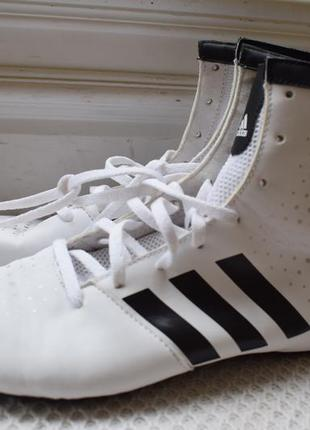 Кроссовки высокие кеды борцовки боксерки адидас adidas р.37 24 см