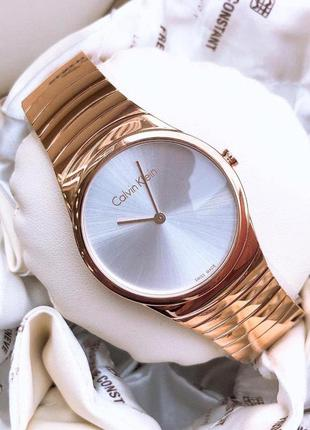 - 61% | женские швейцарские часы calvin klein whirl k8a236...