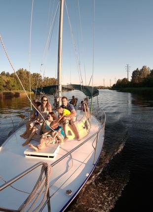 Аренда яхты в Новой Каховке