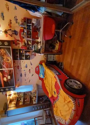 Детская комната CILEK (кровать-машина,стол,тумба)
