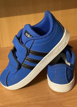 Кроссовки детские на липучке оригинал adidas