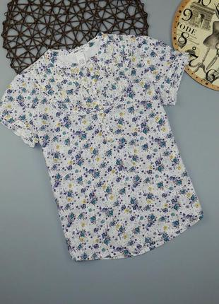Хлопковая блузка на 11-12 лет, рост 152 см