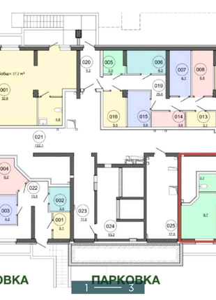 Продажа помещения свободного назначения в ЖК RealPark