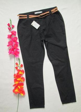 Шикарные летние брюки чинос с контрастным ремешком vero moda d...