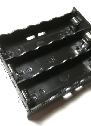 Батарейный Отсек На 3 Аккумулятора Li-Ion 18650 Бокс Холдер