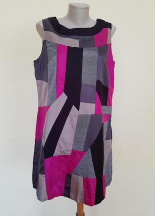 Оригинальное платье шёлк вискоза