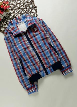 Куртка, ветровка мальчику на 7-8 лет, рост 122-128 см
