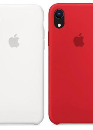 Чехол Silicone case для Apple iPhone XR