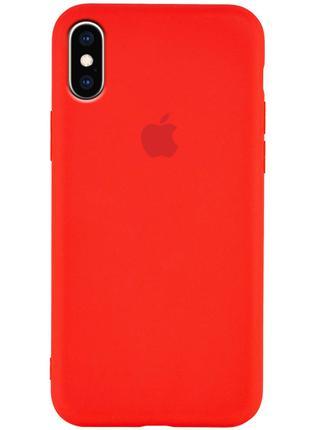 Чехол Silicone Case для Apple iPhone XS Max