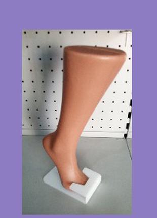 "Манекен ""Нога под носок"" женская (на подставке) р 34"