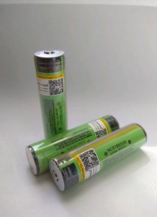 Аккумулятор Li-ion 18650 с защитой без защиты Panasonic Liitokala