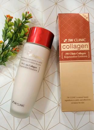 Эмульсия для лица с коллагеном 3W Clinic Collagen Regeneration