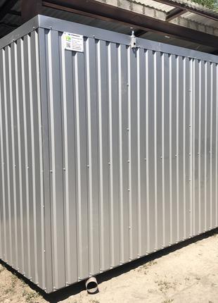 Модульная раздевалка 5*2,4 m