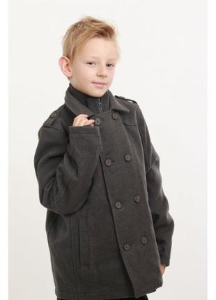 Пальто для мальчика миноти англия  р.98-146