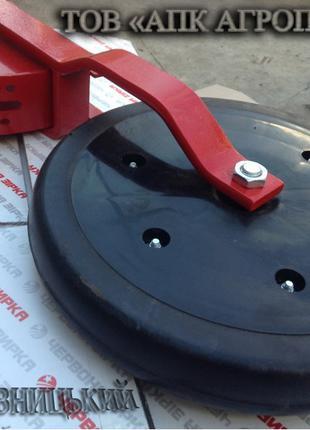 Прикатывающее колесо СЗ в сборе на сеялку КПЗ 00.000Г-01