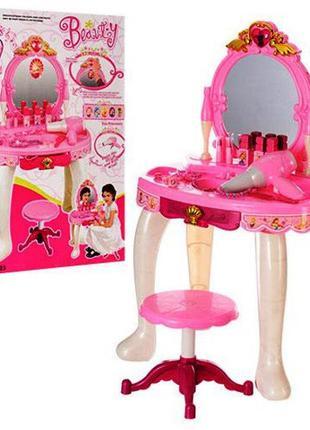Детское игровое трюмо Салон Красоты 008-23, стульчик, свет, звук