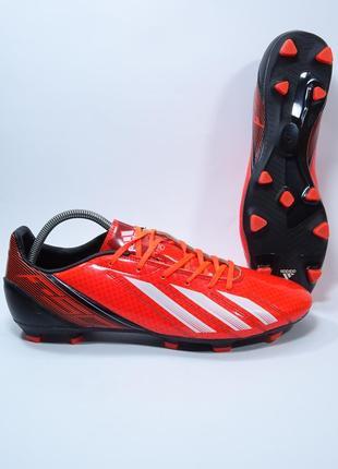 Оригинальные футбольные бутсы adidas f10 trf fg
