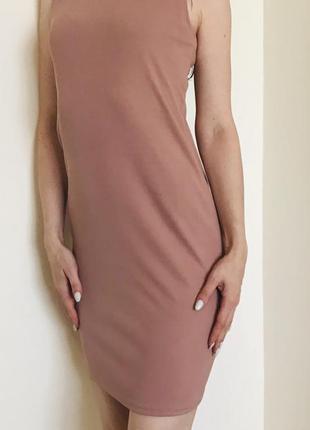 Плаття рубчик