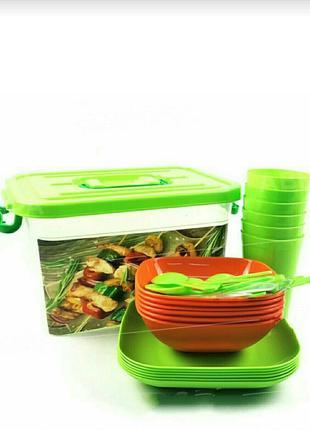 Набор посуды для пикника