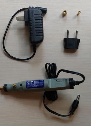 Бормашина-гравер HILDA JD5202 для шлифовки полировки гравировки