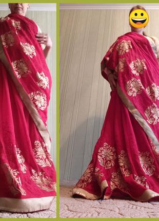 Индийское свадебное сари