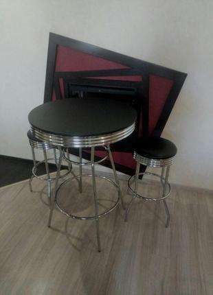 Барный комплект мебели(стол+ 2 стула)