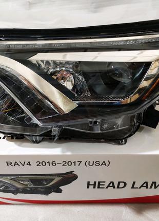Фара передние LED на Toyota RAV4 2016