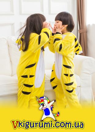 Кигуруми тигр. Детский и взрослый