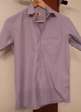 Классическая рубашка с коротким рукавом на мальчика