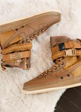 Кросівки ботинки nike special field air force 1 кроссовки чере...