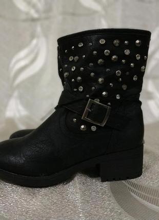 Сапожки ботинки осенние