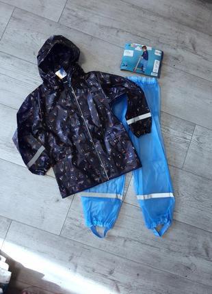 Комплект дождевик куртка и полукомбинезон оба без подкладки lu...