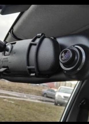 Видеорегестратор 1080р с камерой заднего вида
