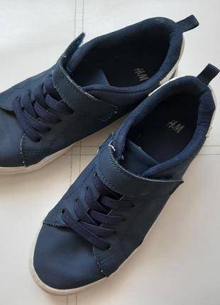 Мокасины 31р. , синие, h&m