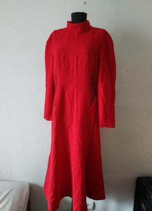 Винтаж платье шерстяное новое ссср