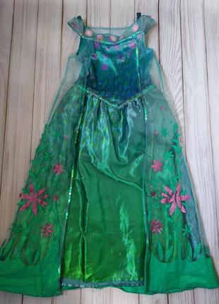 Платье эльза 7-8 лет